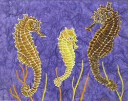 Art: Fairy Steeds by Artist Jackie K. Hixon