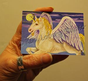 Detail Image for art Winged Unicorn