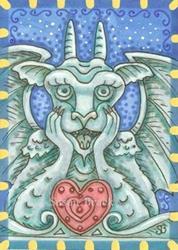 Art: HEART OF STONE by Artist Susan Brack