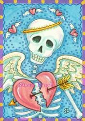 Art: SHOT THRU THE HEART by Artist Susan Brack