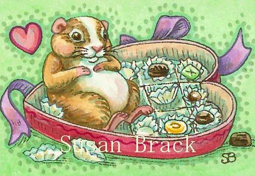 Art: HAMSTER HEAVEN by Artist Susan Brack