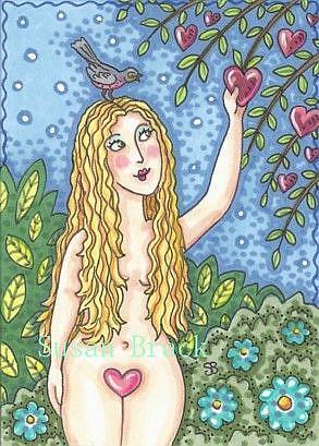 Art: VALENTINE FOR EVE by Artist Susan Brack