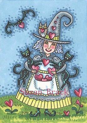 Art: HEARTS FOR EVERYONE by Artist Susan Brack