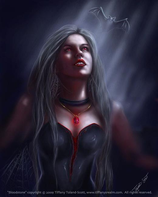 Art: Blood Stone by Artist Tiffany Toland-Scott