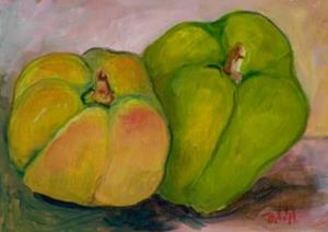 Detail Image for art Green Peppers-sold