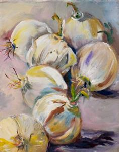 Detail Image for art A study of Onions