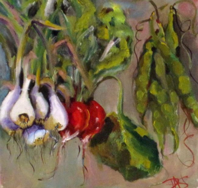 Art: vegetables by Artist Delilah Smith