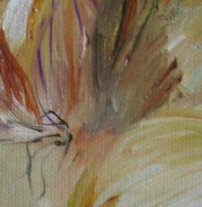 Detail Image for art Three Onions, SOLD