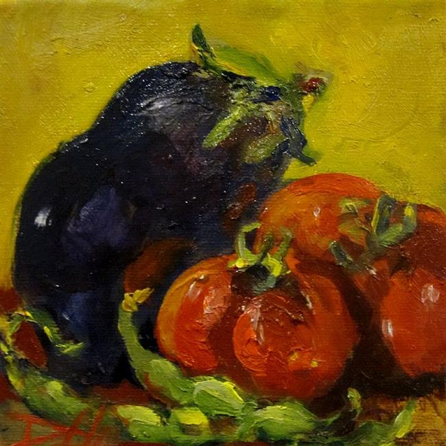 Art: Tuscan Vegetables by Artist Delilah Smith
