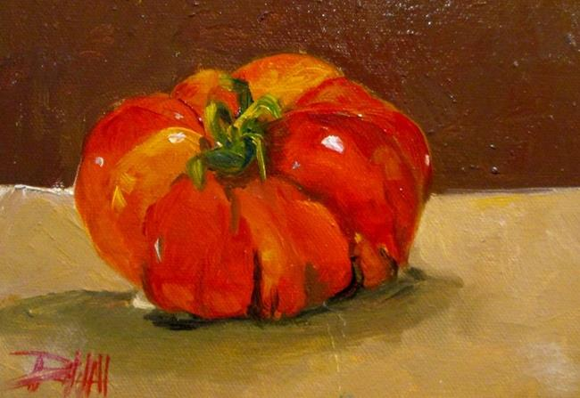 Art: Heirloom Tomato No.3 by Artist Delilah Smith