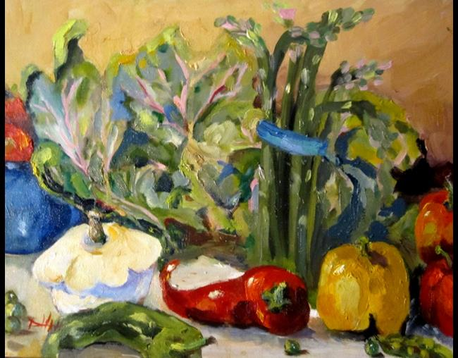Art: Farm Fresh by Artist Delilah Smith