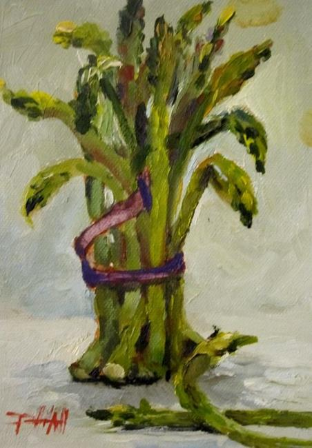 Art: Asparagus by Artist Delilah Smith