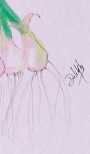 Detail Image for art Two Bunches of Green Onions