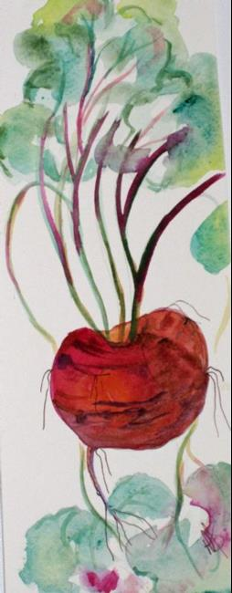 Art: Long Beets by Artist Delilah Smith