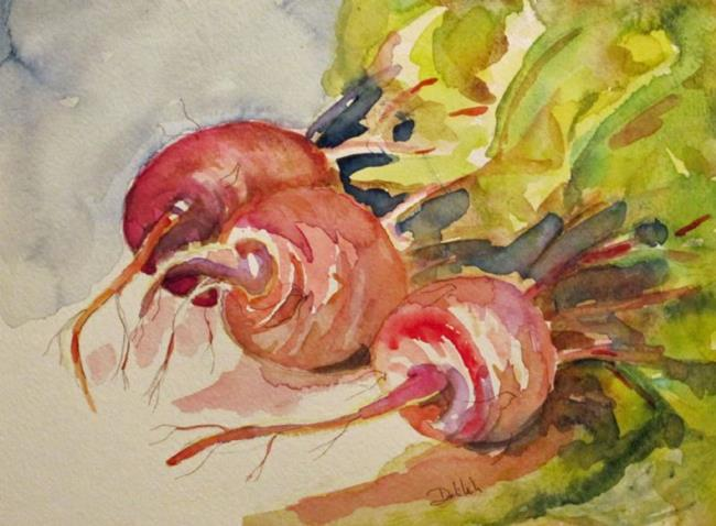 Art: Beets No.3 by Artist Delilah Smith