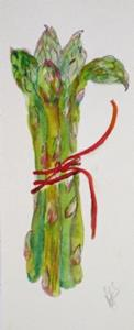 Detail Image for art Long Asparagus- sold