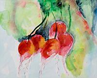Detail Image for art Bunch of Radish