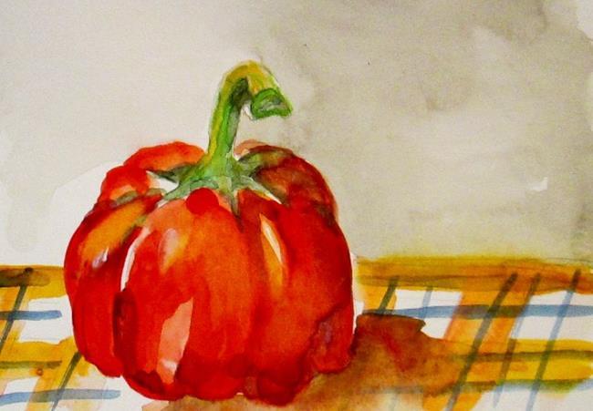 Art: Fat Pepper by Artist Delilah Smith