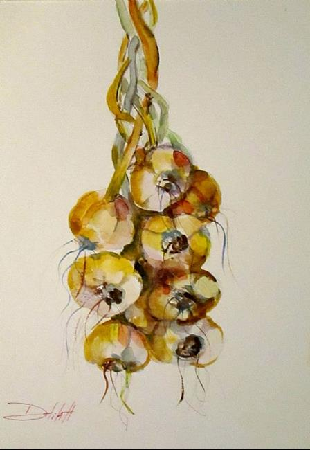 Art: Garlic by Artist Delilah Smith