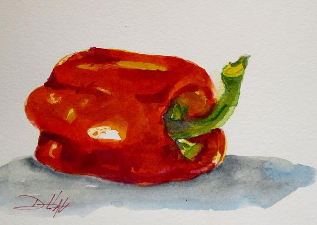 Art: Red Pepper-sold by Artist Delilah Smith