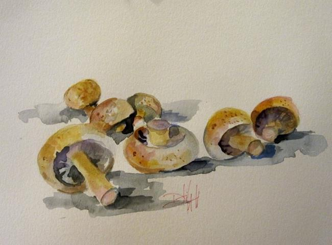 Art: Mushrooms-sold by Artist Delilah Smith
