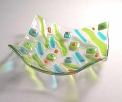 Art: Funky Olives Bowl by Artist Dawn Lee Thompson