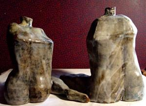 Detail Image for art Found Leg Pots