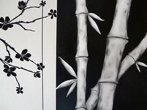 Detail Image for art Bamboo & Blossom