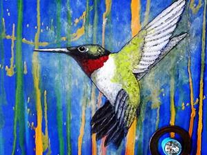 Detail Image for art Hummingbird
