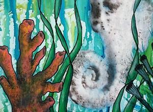 Detail Image for art Seahorse (SOLD)
