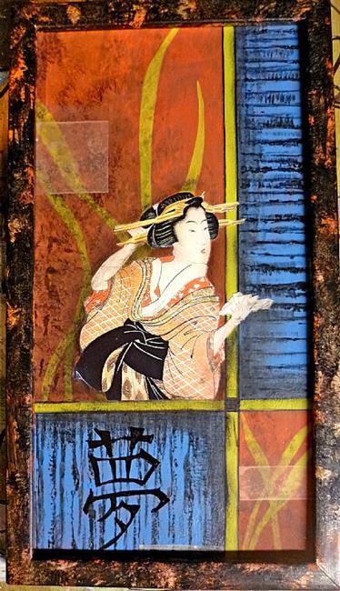 Art: Oriental Pic #2 by Artist Vicky Helms