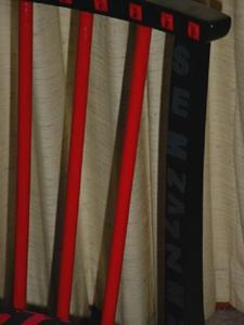 Detail Image for art Red Black Letters Chair
