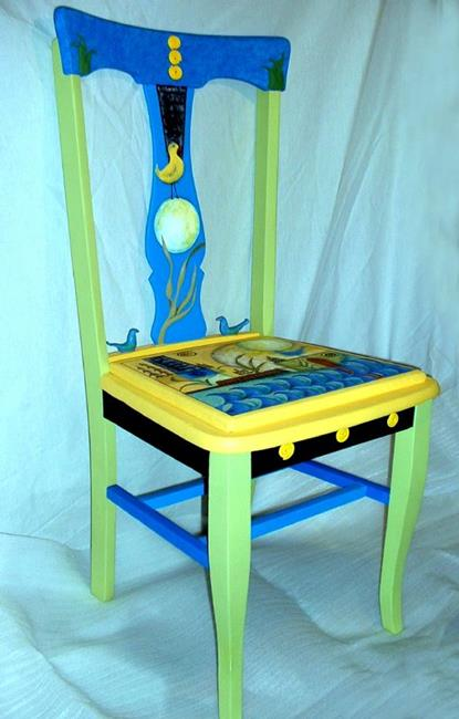 Art: Anne's Chair GIFT by Artist Vicky Helms