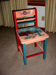 Art: Southwest Chair SOLD by Artist Vicky Helms