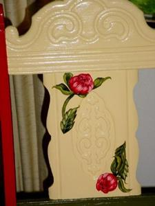 Detail Image for art Peony Chair SOLD