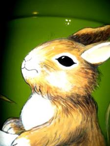 Detail Image for art Bunnies on a Bucket COMMISSION