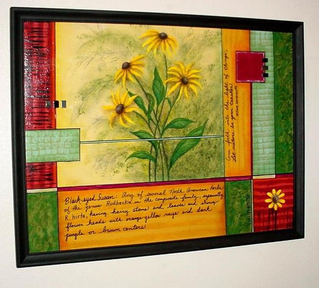 Art: Black Eyed Susans SOLD by Artist Vicky Helms