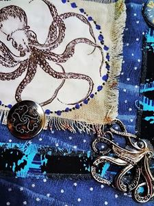 Detail Image for art Steampunk Purse 7