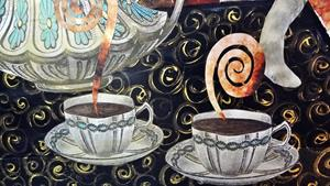 Detail Image for art Spilling the Tea