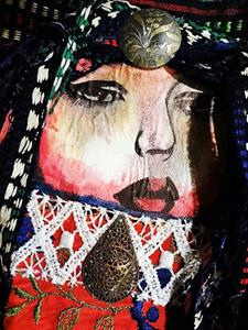 Detail Image for art Boho Purse #2 - Front