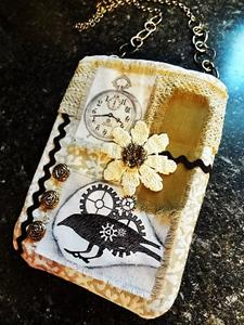 Detail Image for art Steampunk Purse 9