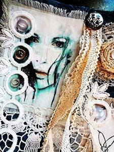Detail Image for art Boho Purse #6