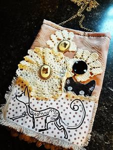 Detail Image for art Steampunk Purse #13