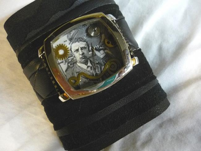 Art: INVENTOR CUFF sold by Artist Vicky Helms