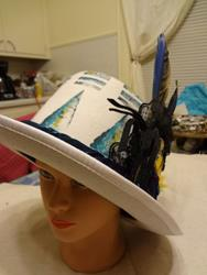 Art: McCaw Hat by Artist Vicky Helms