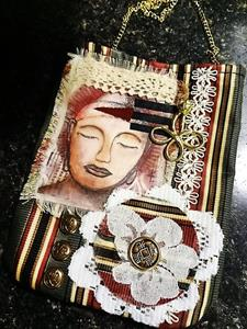 Detail Image for art (SOLD) Steampunk Purse #12
