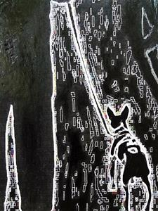 Detail Image for art Man & Dog #3