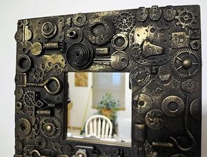 Detail Image for art Steampunk Mirror