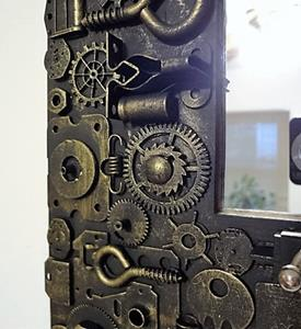 Detail Image for art Steampunk Mirror