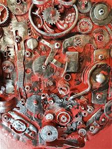 Detail Image for art Steampunk Owl (SOLD)